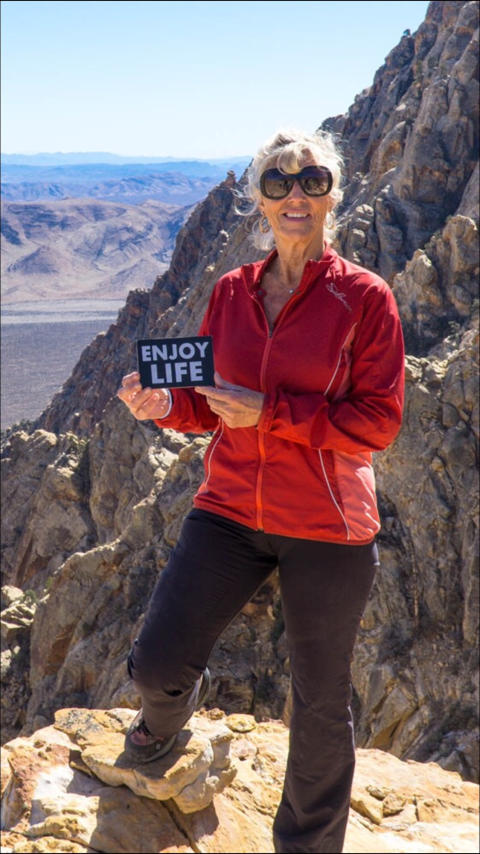 Image - ACR - Rita Wagner at Mt. Whitney last year