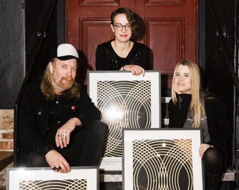 Göteborgska musikprofilerna Anna von Hausswolff,  Tomas Lindberg och Malin Wättring får SKAP:s stipendier