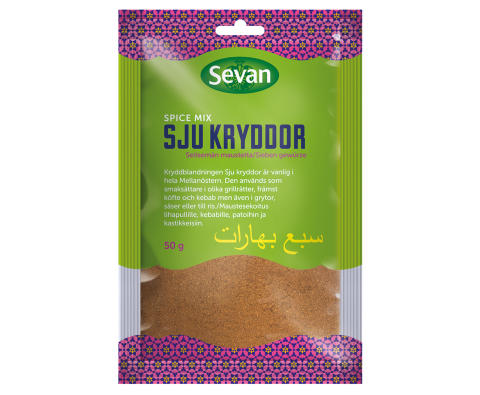 Sju Kryddor Spice Mix