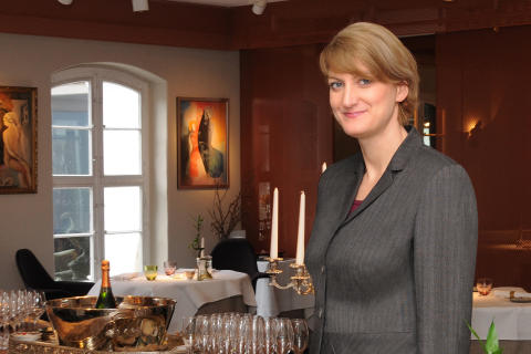 Food & Beverage (F & B) Managerin Susanne Lang im Bleiche Resort & Spa