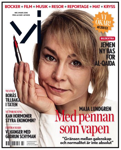 """Maja Lundgren: """"Gränsen mellan galenskap och normalitet är inte absolut"""""""