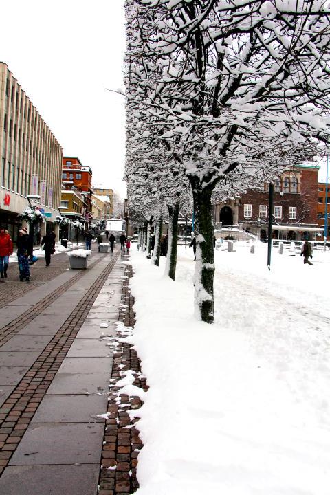I Borås undviks benbrott tack vare fjärrvärme