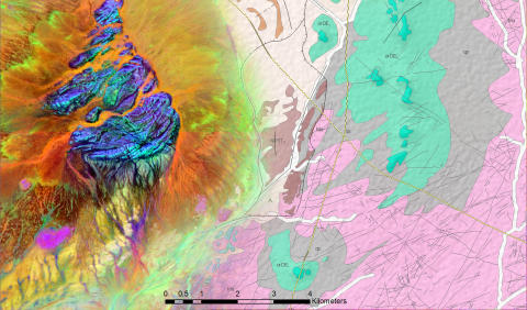 GAF DEMONSTRATES IMPROVED GEOLOGICAL MAPPING WITH SENTINEL DATA