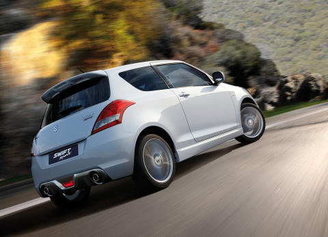 Suzuki Swift Sport - kørefoto