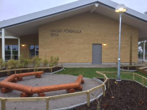 Pressinbjudan: Invigning och Öppet Hus på Hagby förskola
