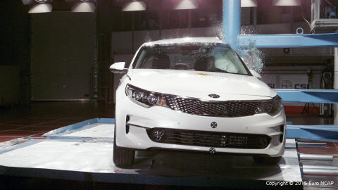 Optima EuroNCAP pole