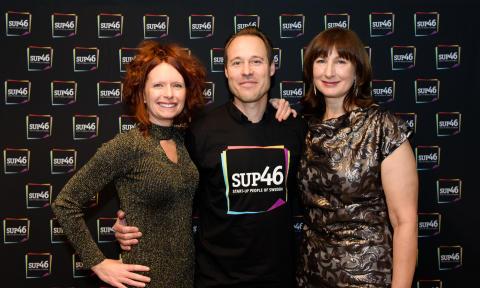 Jessica Stark SUP46, Sebastian Knutsson King.com och Jane Walerud Affärsängel.