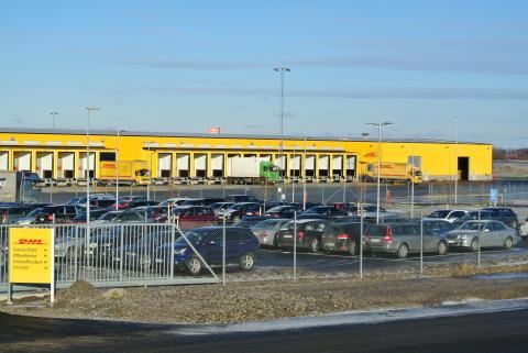 DHL Malmö har flyttat till nybyggd och miljöcertifierad terminal i Sunnanå