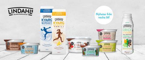 Lindahls lanserar kvargyoghurt i 1000 g-förpackning