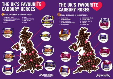 When it's crunch time, Brits opt for Crunchie in battle of Cadbury Heroes at Christmas!