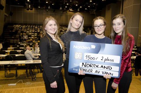 Laget fra Nordland kom på andreplass i den nasjonale finalen