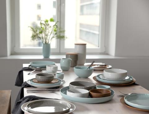 Von Jade bis Mint: zu Tisch mit der Trendfarbe Grün