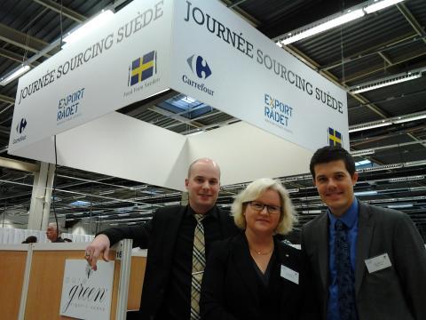 Polarbröd initierar kontakt med fransk butiksjätte