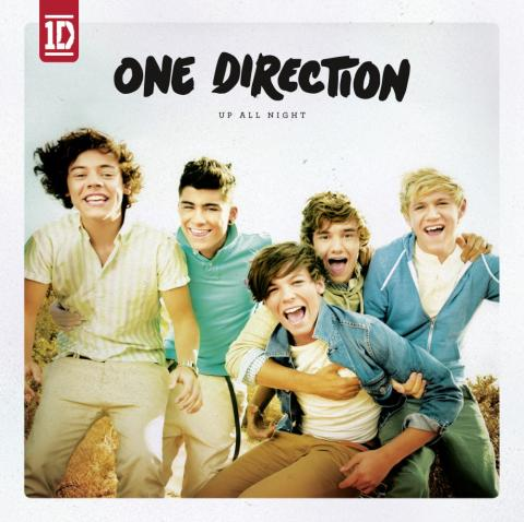 "One Direction - albumomslag ""Up All Night"""