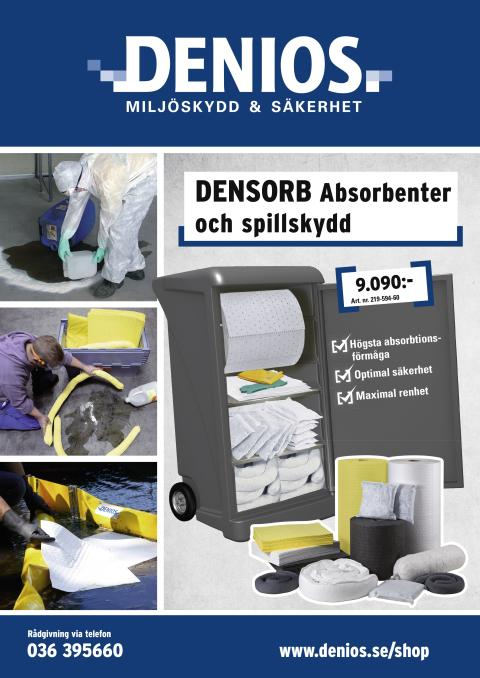 Allt du behöver veta om absorbenter och spillredskap – samlat i en broschyr!