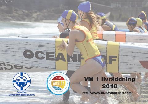 Svenska livräddare till VM i Australien