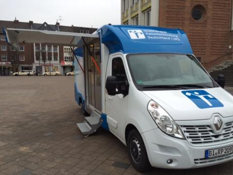 Beratungsmobil der Unabhängigen Patientenberatung kommt am 12. Mai nach Düren.