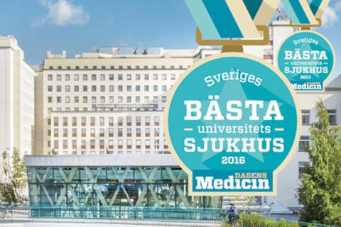 Norrlands universitetssjukhus bäst i landet – igen!