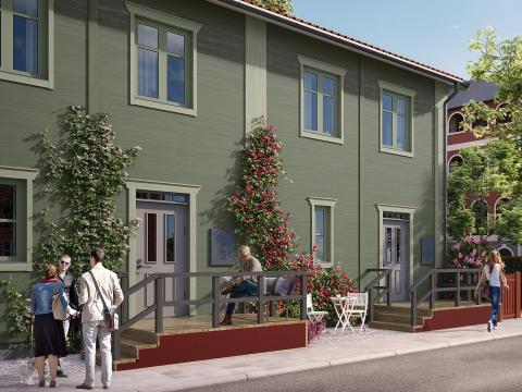 OBOS blåser liv i bostadsrättsmarknaden i Nora