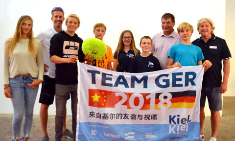 Kieler Segelkinder fahren nach China zur International Qingdao Sailing Week