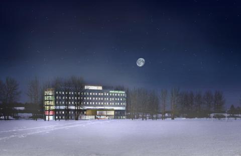 Nytt sporthotell i Uppsala