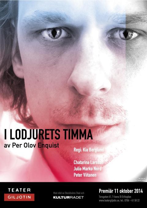 Teater Giljotin: I LODJURETS TIMMA Av Per Olov Enquist