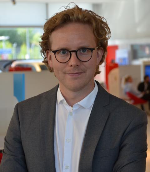 Erik Gustafsson – en ny röst för Toyota och Lexus i Sverige