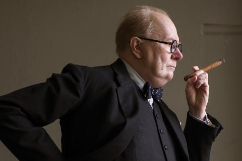 Gary Oldman fik en oscar for sin rolle som Winston Churchill i The Darkest Hour