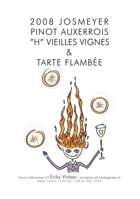Eriks Vinbar serverar vin och mat från Alsace.
