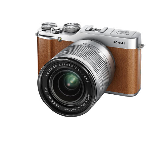 FUJIFILM X-M1 brown