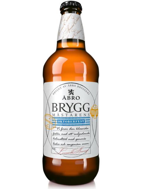 Åbro Bryggeri firar Oktoberfest med en glad nyhet på ölhyllan