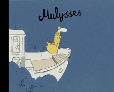 Prisbelønte Øyvind Torseter med ny original og absurd morsom tegneseriebok: Mulysses