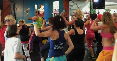 Dansbanan under Cityfestivalen - inte bara dans