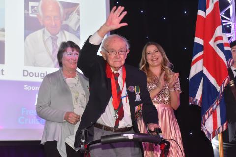Brave D-Day veterans commended with a 'Judges' Special Award' at 'Stars of Suffolk 2019', in association with Fred. Olsen Cruise Lines