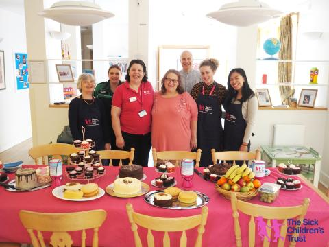 Acorn House gets baking to raise some dough for the return of Big Chocolate Tea