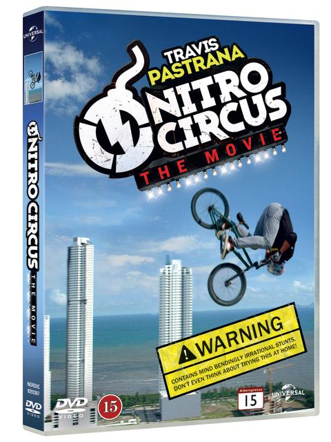 Nitro Circus The Movie på DVD 3 april