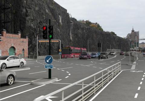 Samrådsförslag ny bussterminal Slussen.