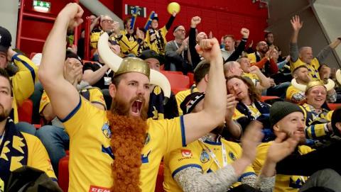 Succé för Beijer Hockey Games – hantverkare från hela landet hejade fram Tre Kronor till segrare