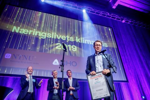 ROCKWOOL tilldelades klimatpris i Oslo