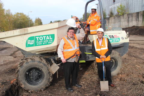 Stourbridge park and ride extension works get underway