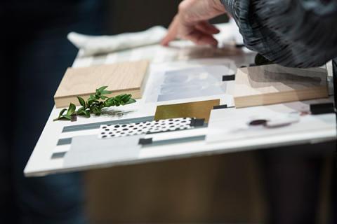 Et moodboard er et godt hjelpemiddel for å planlegge et helt rom.
