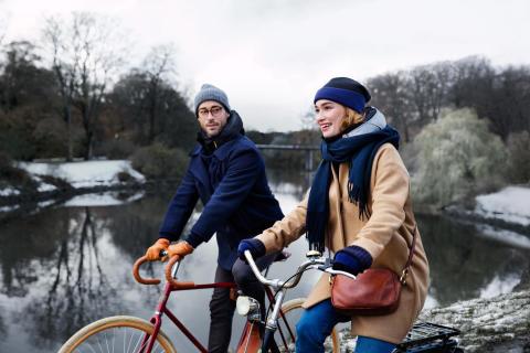Mit dem Airbag-Fahrradhelm aus Malmö entspannt in die Pedale treten