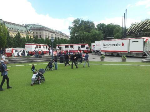 14 juni Internationella blodgivardagen