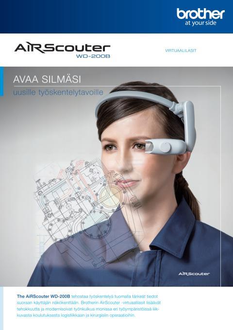 AirScouter-virtuaalilasit avaavat silmäsi uusille työskentelytavoille