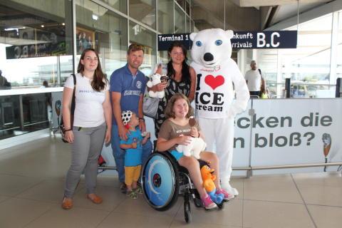 Stolze Zwischenbilanz: Eismänner sammeln mehr als 30.000 EURO Spenden für Make-A-Wish