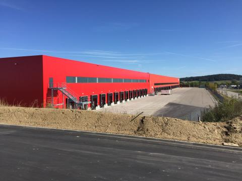 Der Fressnapf-Logistik-Standort Feuchtwangen