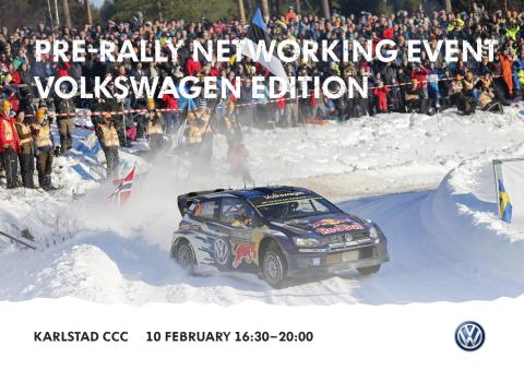 Rally Sweden networking event at Karlstad CCC February 10