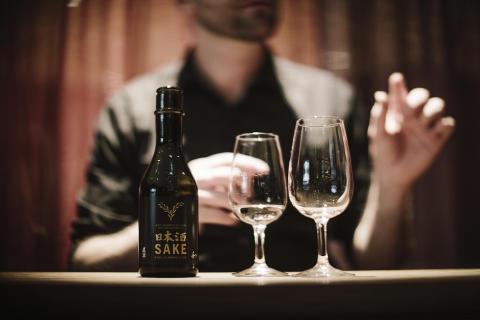 Yasuragi Sake  med glas