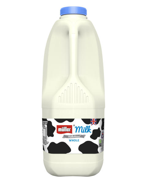 Müller Milk & Ingredients to reduce plastic use and food waste as it simplifies fresh milk and cream range