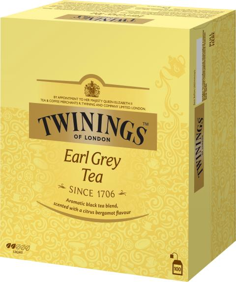 Twinings Earl Grey 100 påsar